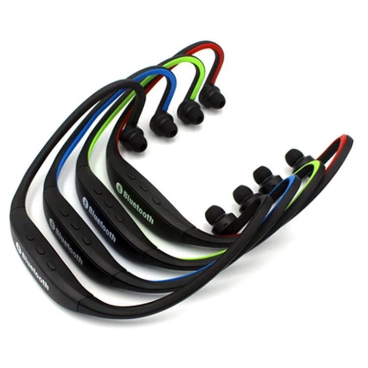Freies Verschiffen-bester Mischfarbe-drahtloser Sport-Kopfhörer-MP3-Kopfhörer-Kopfhörer mit 2.0 USB TF-Karten-Schlitz