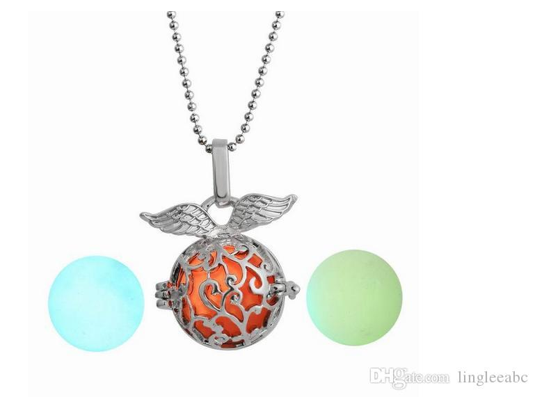 Pregnancy Ball Bola 3 Colors Angel ball in Pendants Chime open hollow Necklace Jewelry Pendant