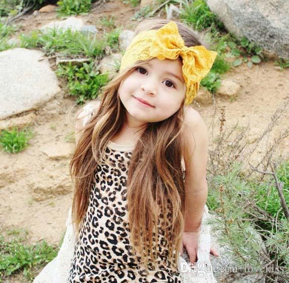 Enfants Accessoires cheveux pour les filles bébé Bandeaux Bow dentelle Bandeau bébé Accessoires Bandeaux cheveux Choses C7149