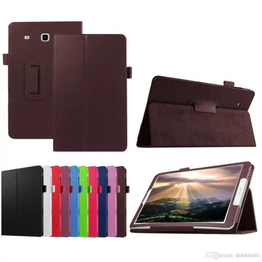 삼성 전자 갤럭시 탭 E 8.0 T377 T377V SM-T377 T377P 태블릿 케이스 + 스크린 프로텍터 보호 필름에 대 한 비즈니스 PU 가죽 커버