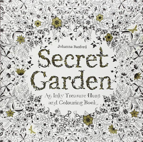 2018 2015 Secret Garden An Inky Treasure Hunt And Coloring Book Adult Children Relax Graffiti Painting From Guangzhou888 768