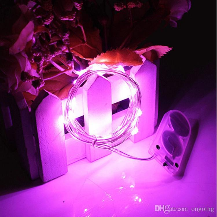 Newest CR2032 battery operated 2M 20LEDS micro led fairy string light Copper Wire led string holiday light decorations