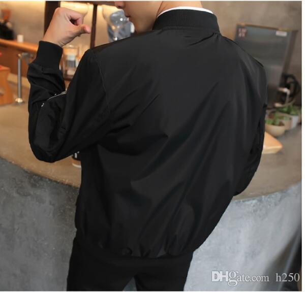 Novos Homens Jaqueta Bomber Hip Hop Patch Designs Slim Fit Piloto Bomber Jaqueta Casaco Homens Jaquetas Plus Size XXXXL