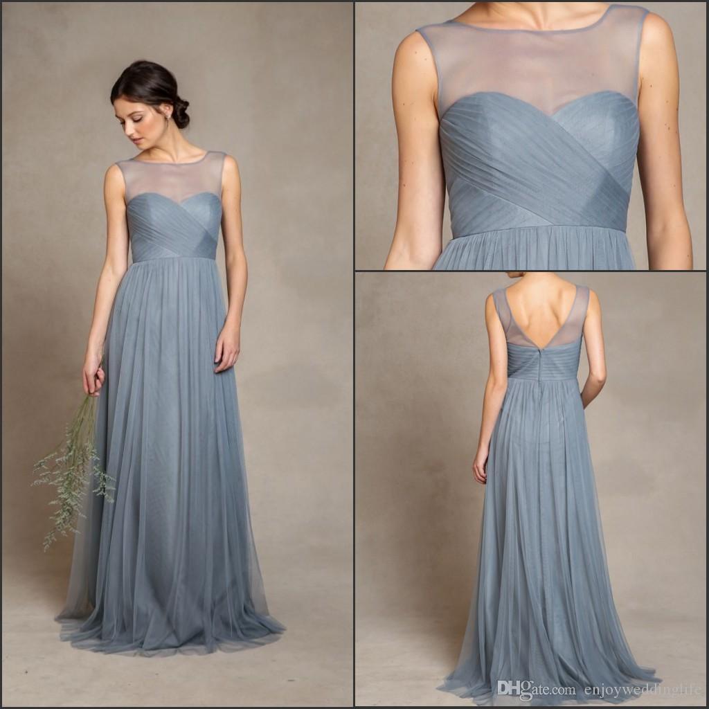 Gray Blue Prom Dresses_Prom Dresses_dressesss
