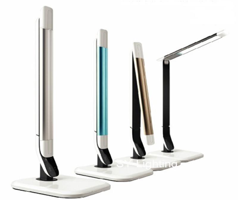2019 Detachable Ultrathin Aluminum Led Table Lamp Touch Control