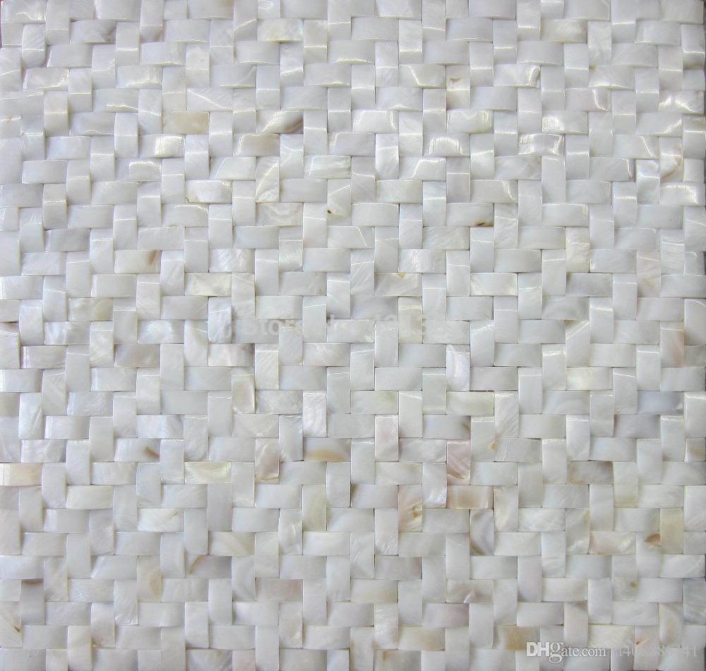 Hot Shell Mosaik Perlmutt Fliese Backsplash Bogen Geformte Shell Fliesen  Weiß Perlmutt Fliesen Bad Mosaikfliese