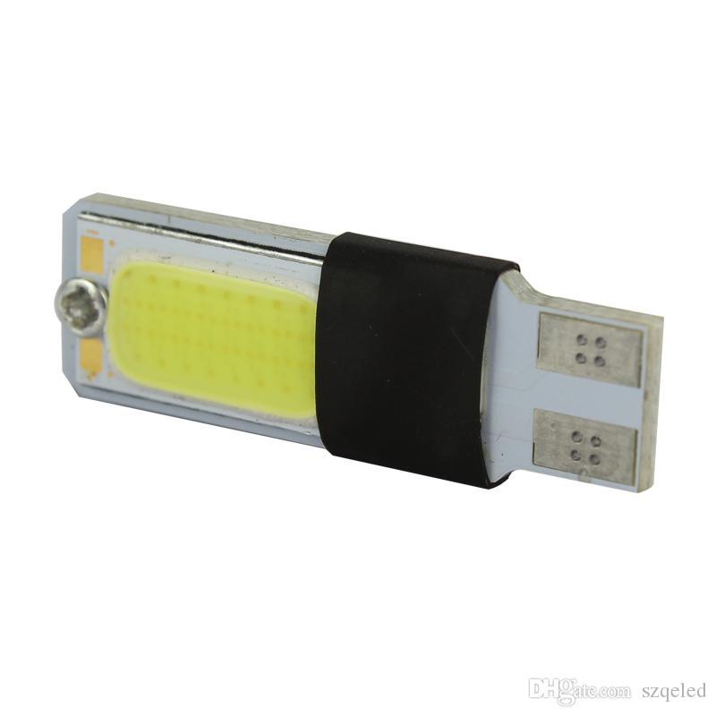 T10 W5W 194 927 161 CANBUS COB LED Araba Yan Kama Işık dönüş sinyali ışık Lamba Decode xenon Oto Led Araba