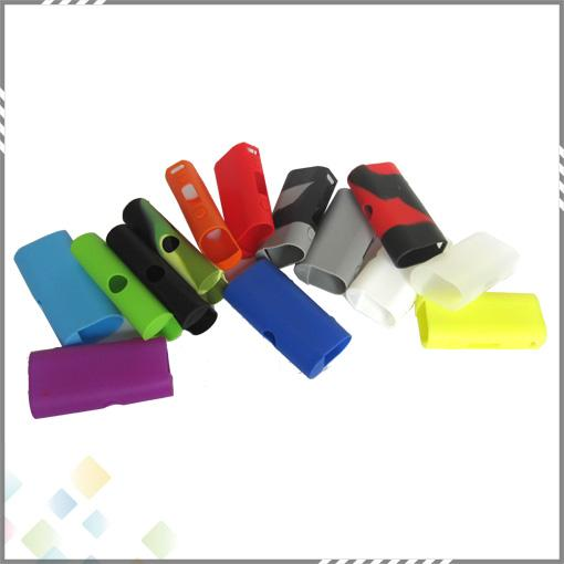 Colorful Silicone Case for Kanger Subox Mini Box mod Protective Case Fit Kangertech E Cigarette Rubber Sleeve Protective Cover DHL Free