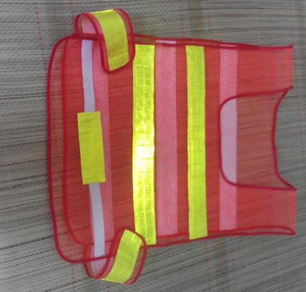 2016 새로운 스타일 4 색 선택 뜨거운 판매 조정 가능한 허리 크기 위생 작업자 청소기 트래픽에 대 한 높은 가시성 반사 안전 조끼