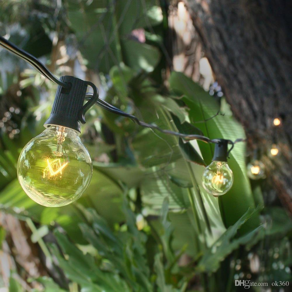 100 globe patio string lights 100 ft outdoor globe patio st