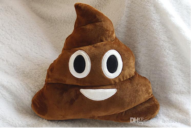 Shit Shape Cute Emoji Funny Poo 13 8 Inches Pillow Stuff