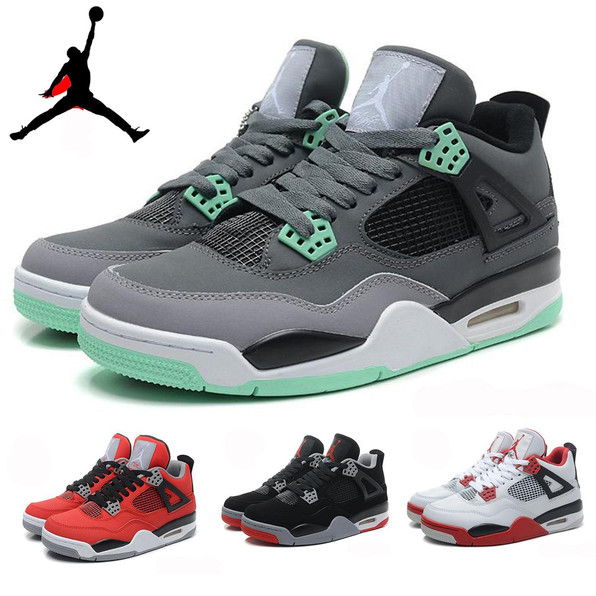 Nike Air Jordan 4 Retro Iv Toro Bravo Bred Green Glow Oreo Thunder Cement Mens Basketball Shoes,Wholesale Aj4 Retro 4 Iv Sneakers J4s 41 47 Shoes Sale ...