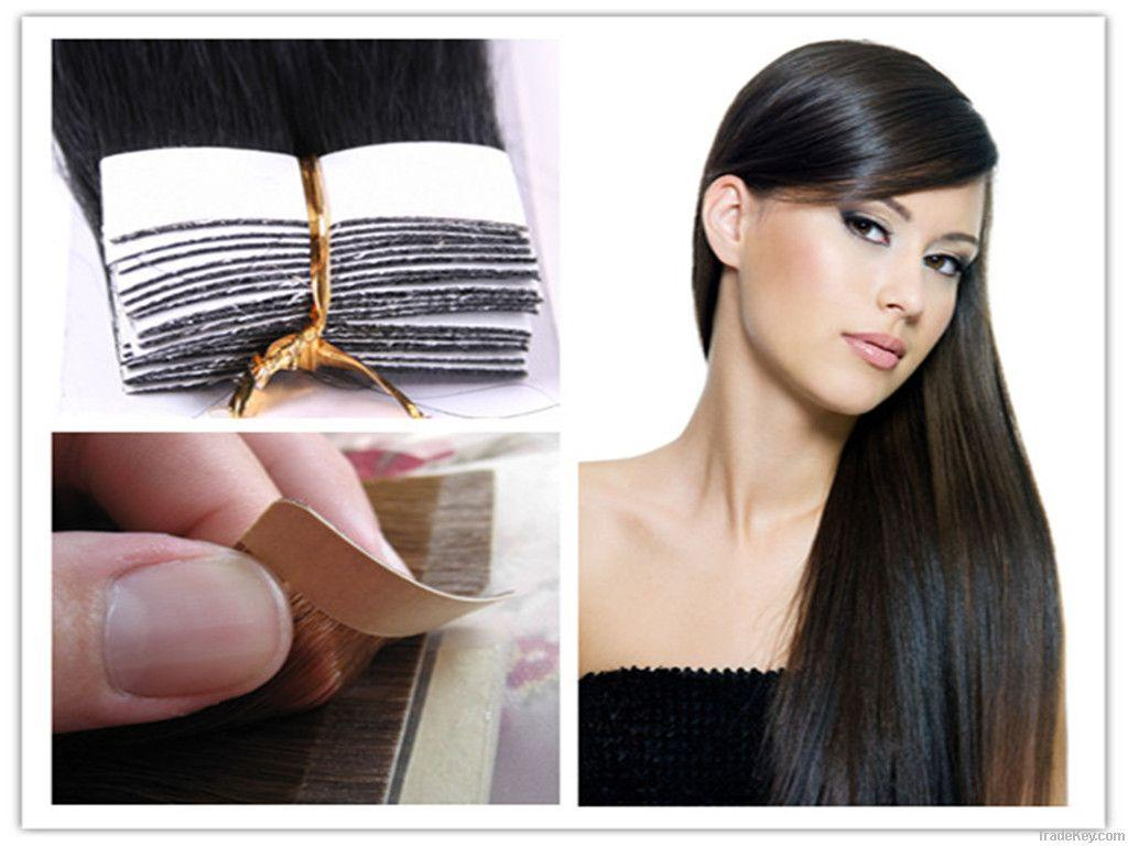 Cheap Tape In Hair Extensions Black Brown Blonde Straight Indian