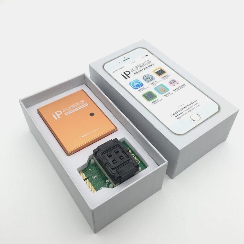 ipbox 2 IP BOX3 programador de alta velocidad ip para programadores de disco duro de almohadilla de teléfono 4s 5 5c 5s 6 6 plus herramientas de actualización de memoria 16g a 128gb