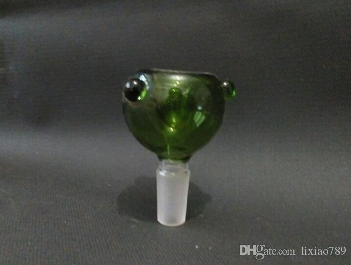 encaixes de tubulação diretos da tubulação da água cor cabeça de fantasma alta de YanGuo do artesanato do vidro de borosilicate