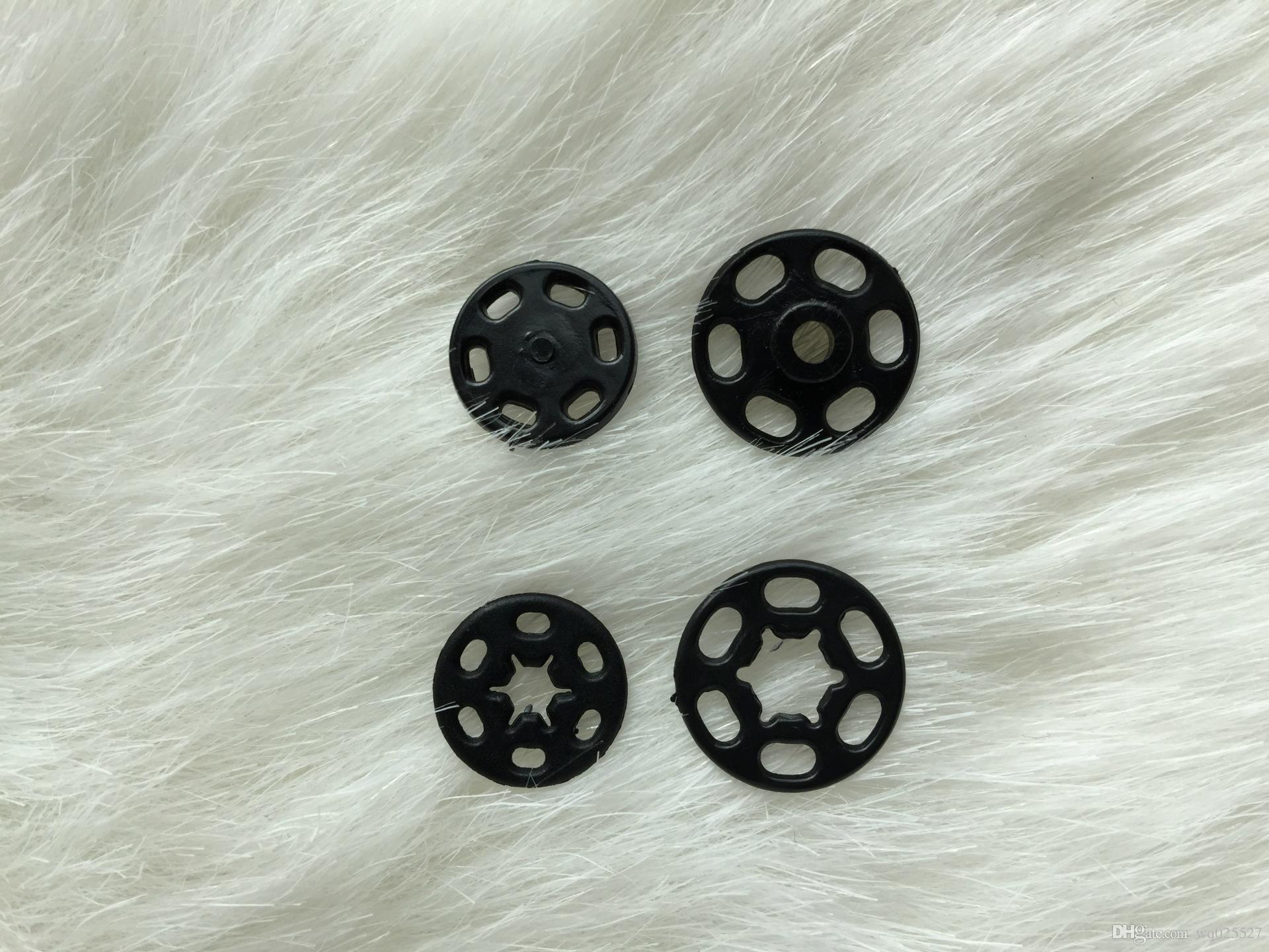 100 pçs / lote fornecimento Por Atacado botões invisíveis camisa escondida-intertravamento snap botão elevador botões acessórios de vestuário