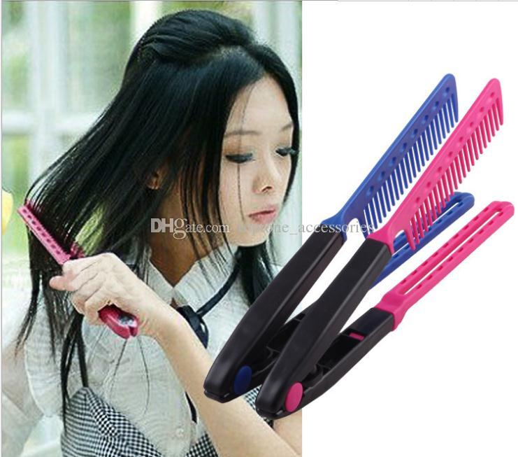 magic hair style magic hair style salon comb brush v folded dryer 6265