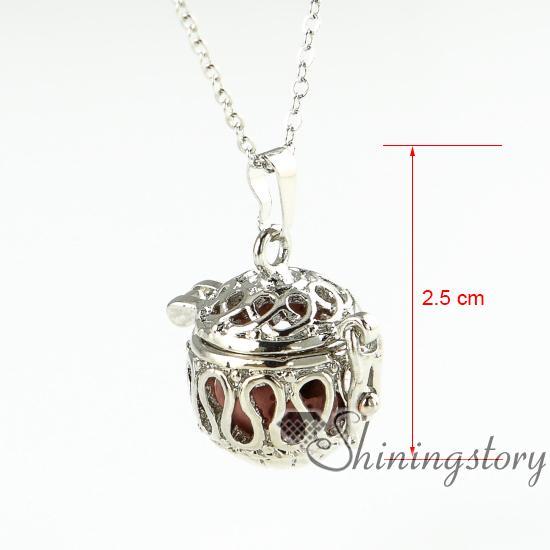 openwork wholesale diffuser necklace essential oil necklace aromatherapy necklace diffuser pendant