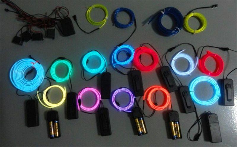 Shop Led Neon Sign Online, 3m Flexible Neon Light Glow El Wire ...