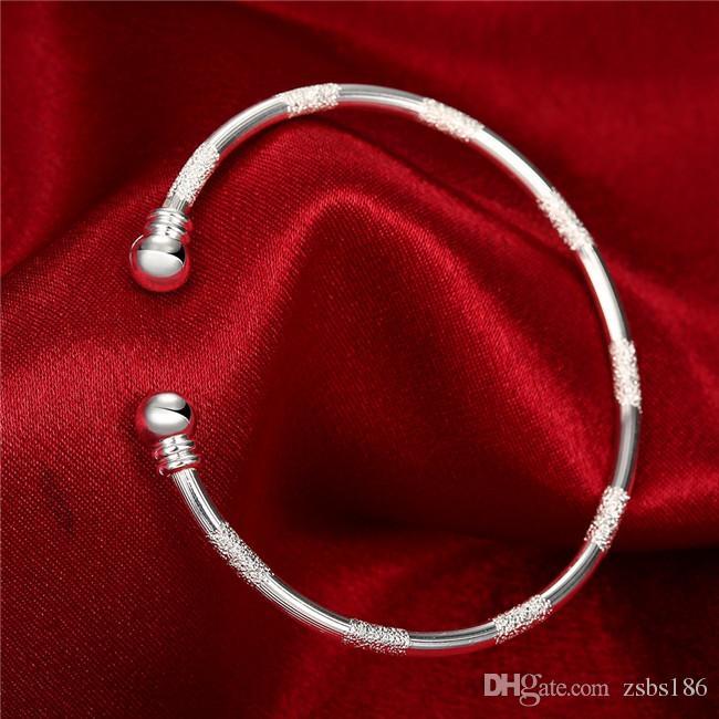 Горячая 925 серебряный позолоченный браслеты для женщин красивые ювелирные изделия минималистский стиль рождественские подарки высокое качество дешевые Оптовая бесплатная доставка