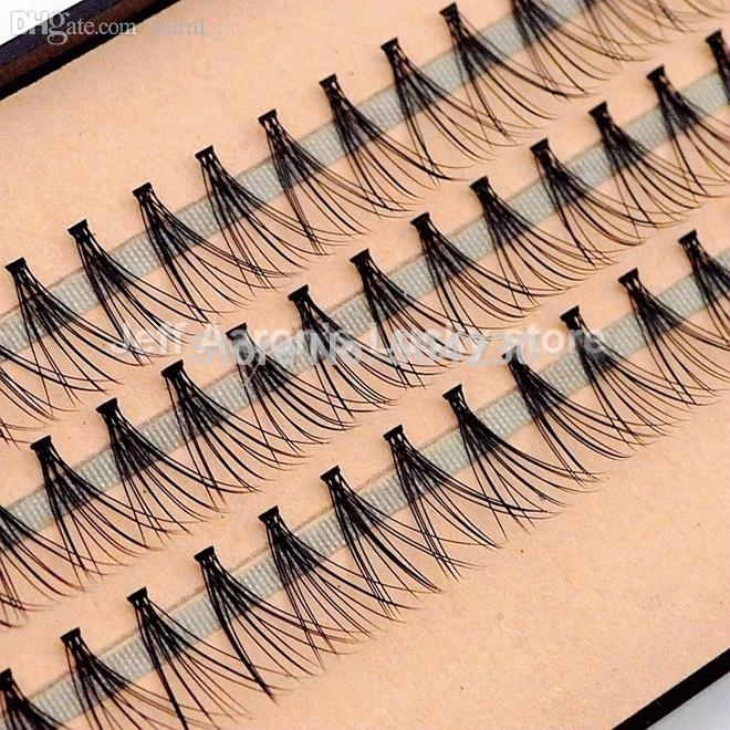 e5bebbf90ea 57 Flare Black Individual False Eyelashes Tray Eye Lash Extension ...