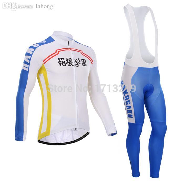 bf4b9a4a2 Wholesale-Yowamushi Pedal HAKOGAKU Cycling Jersey Long Sleeve Men Cycling  Clothing Trousers Clothing Cabinet Clothing Trousers Cotton Online with ...