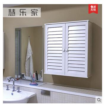 2017 Two Door Shutter Hanging Cabinet Fashionable White Wall Ark ...