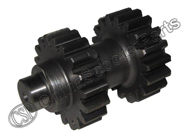 Wholesale- 18 teeth double Gear Kazuma Dingo Falcon Panda Redcat 150cc ATV  Reverse gear box Parts