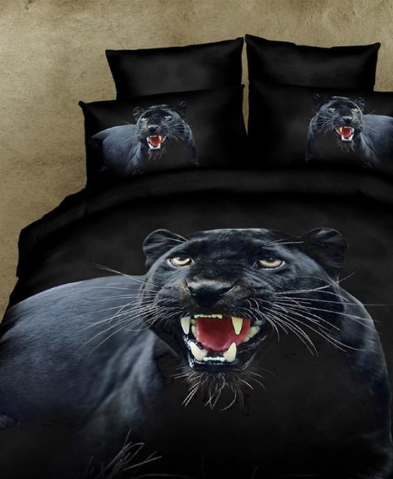 3d black panther bedding set duvet cover cal king size queen full fitted sheet quilt bed in a bag double bedspread bedsheet cute bedding queen size bedding