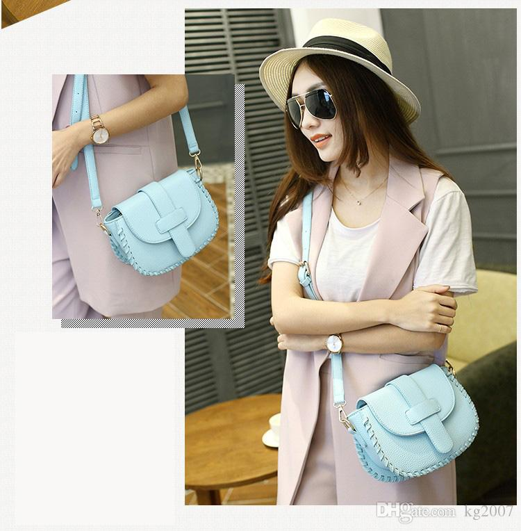 High quality lady and fresh girl/woman messenger bag colorful women cross body bag purse shoulder bag