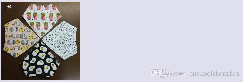 64 Design Neugeborene Cartoons INS Fox Lätzchen Spucktücher 2018 neue Baby Mädchen Jungen wasserdicht Reine Baumwolle Doppelschicht Lätzchen Spucktücher B001