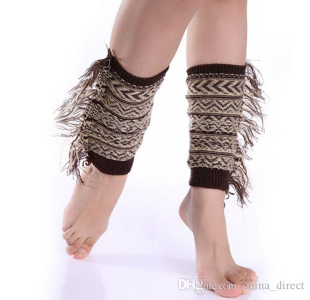 SALE leg warmers Dance socks Warm up knitted booty Gaiters Boot Cuffs Stocking Socks Boot Covers Leggings Tight #3934