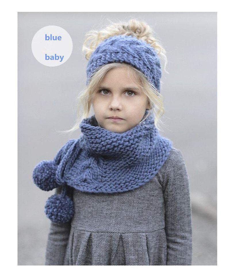 1b60ae3d6005 2017 European And American New Children s Hat Autumn winter Warm ...