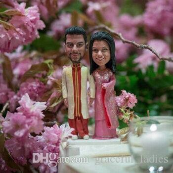 Custom indian wedding cake toppers traditional hindu attire cake custom indian wedding cake toppers traditional hindu attire cake topper wedding decorations supplies party decor favors wedding decor rentals wedding junglespirit Images