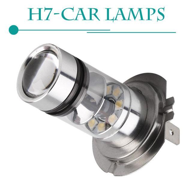 H7 Led Bulb Z1000: H7 100W Cree LED Car Fog Lamp H7 Led Headlight Bulb Lights