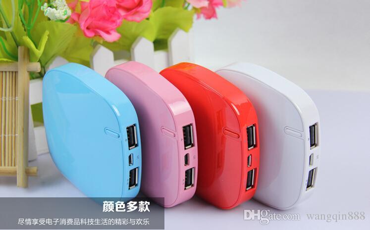 5600mAh Power Bank зарядное устройство портативный 5600 мАч мобильный телефон USB PowerBank внешний резервный зарядные устройства для Samsung iPhone HTC MP3