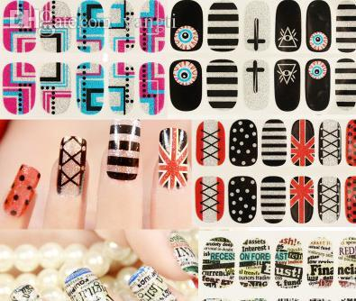Wholesale Nail Art Stickers Cartoon Pregnant Women Children S