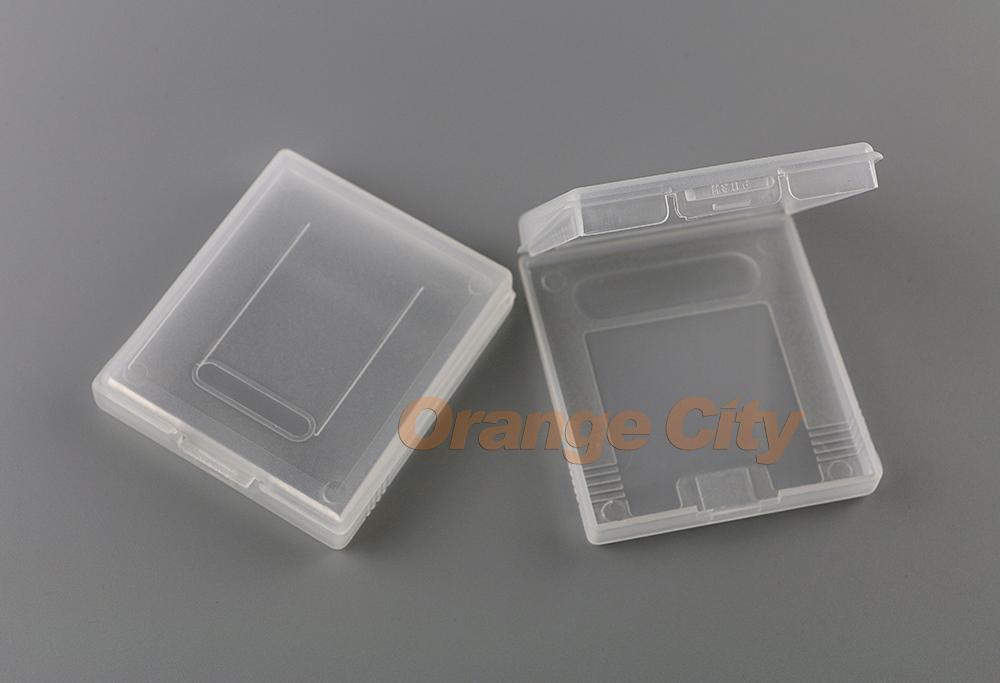 Caja de la cubierta de la tarjeta de los cartuchos de juegos de plástico para GameBoy Color Pocket GB GBC GBP