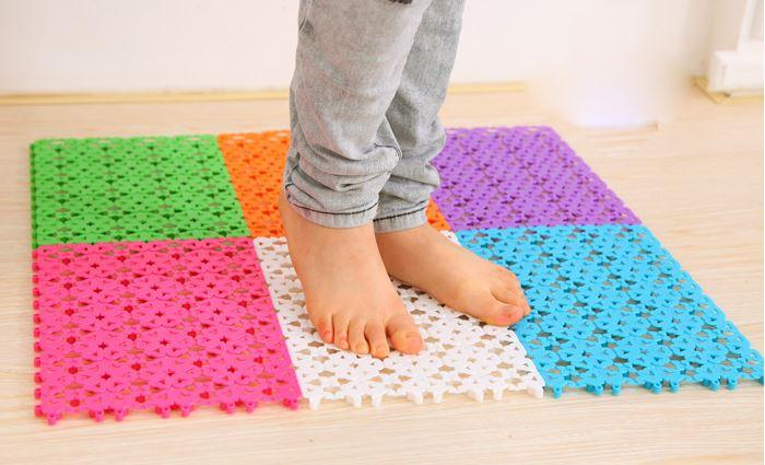 Plastic bathroom carpet solid doormat carpet diy living - Average cost to carpet a bedroom ...