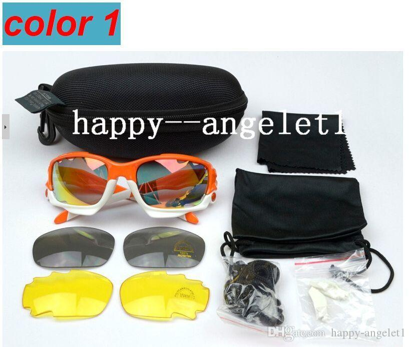 2015 Brand New Eyewear & Accessories > Sunglass Cycling Glasses Sport Sunglasses UV400 Bicycle Many Color TR90 Frame Lenses Goggles