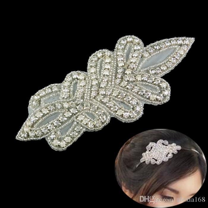 2016 NEW! Wholesale hotfix crystal rhinestone applique patch for wedding sash,bridal dress waist,rhinestone crystal patch trim