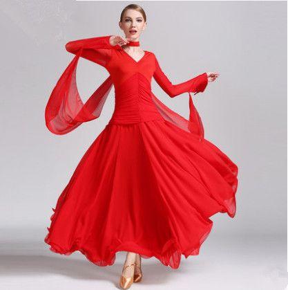 74330c681 Adult/Girl Ballroom Dance Dress Modern Waltz Standard Competition ...