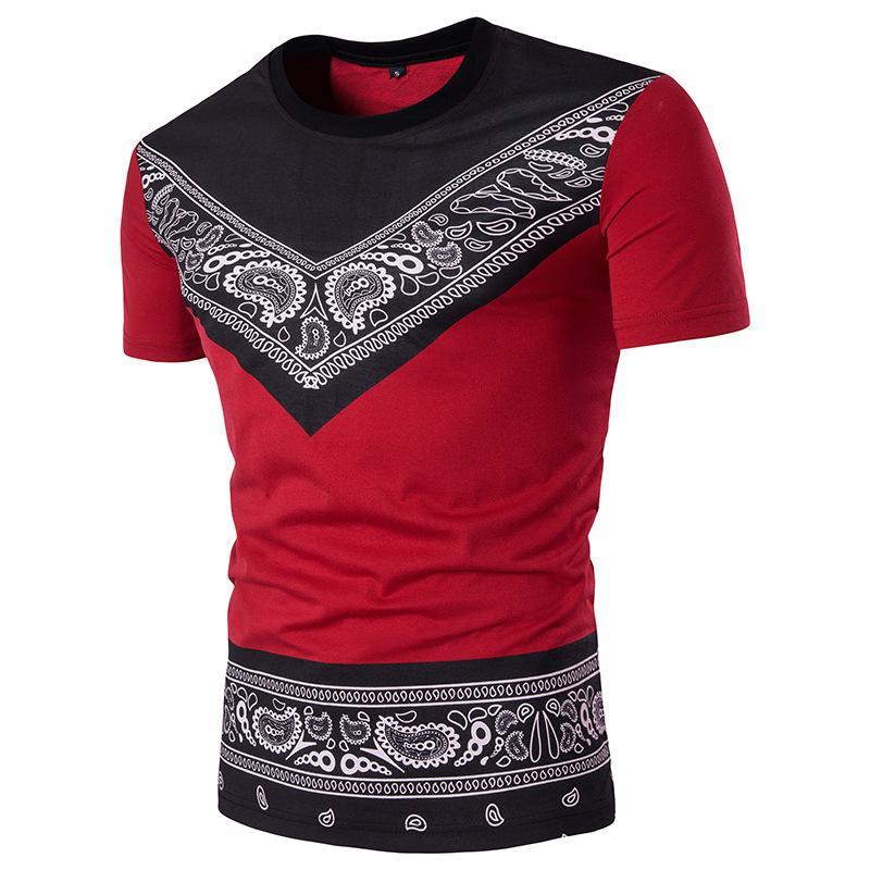 3 cores Moda Tyga Últimos Reis Mens Rock UNKUT T-Shirt Dos Homens de Algodão Casuais Marca Bandana T Shirts Homem Hip Hop Skate Camiseta