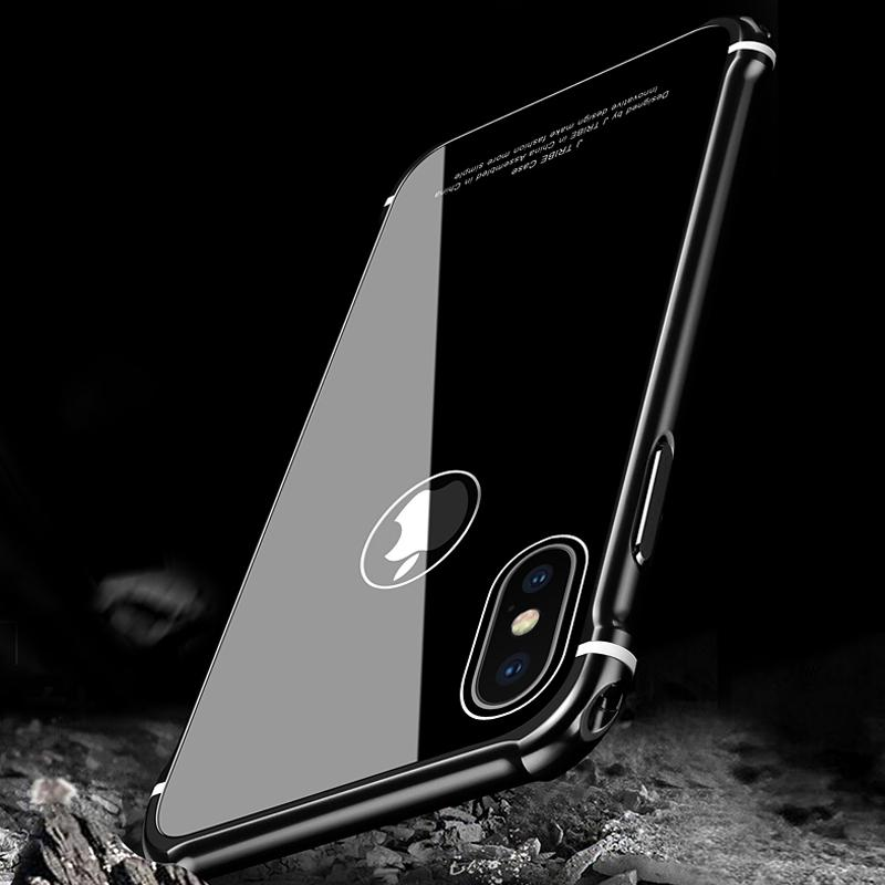 custodia alluminio iphone x