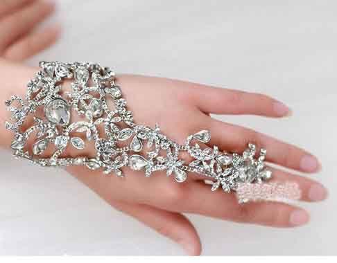 2018 designer new elegant wedding bracelets bridal party prom 2018 designer new elegant wedding bracelets bridal party prom jewelry diamond bracelet with ring wristband bracelet yzs168 from yzs168 1307 dhgate junglespirit Choice Image
