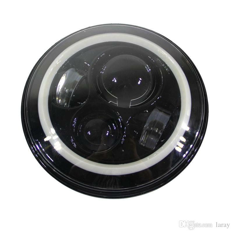 7inch 40w phare rond Cree H4 LED pour Jeep Wrangler avant conduite phare voiture Styling Head Light pour Jeep