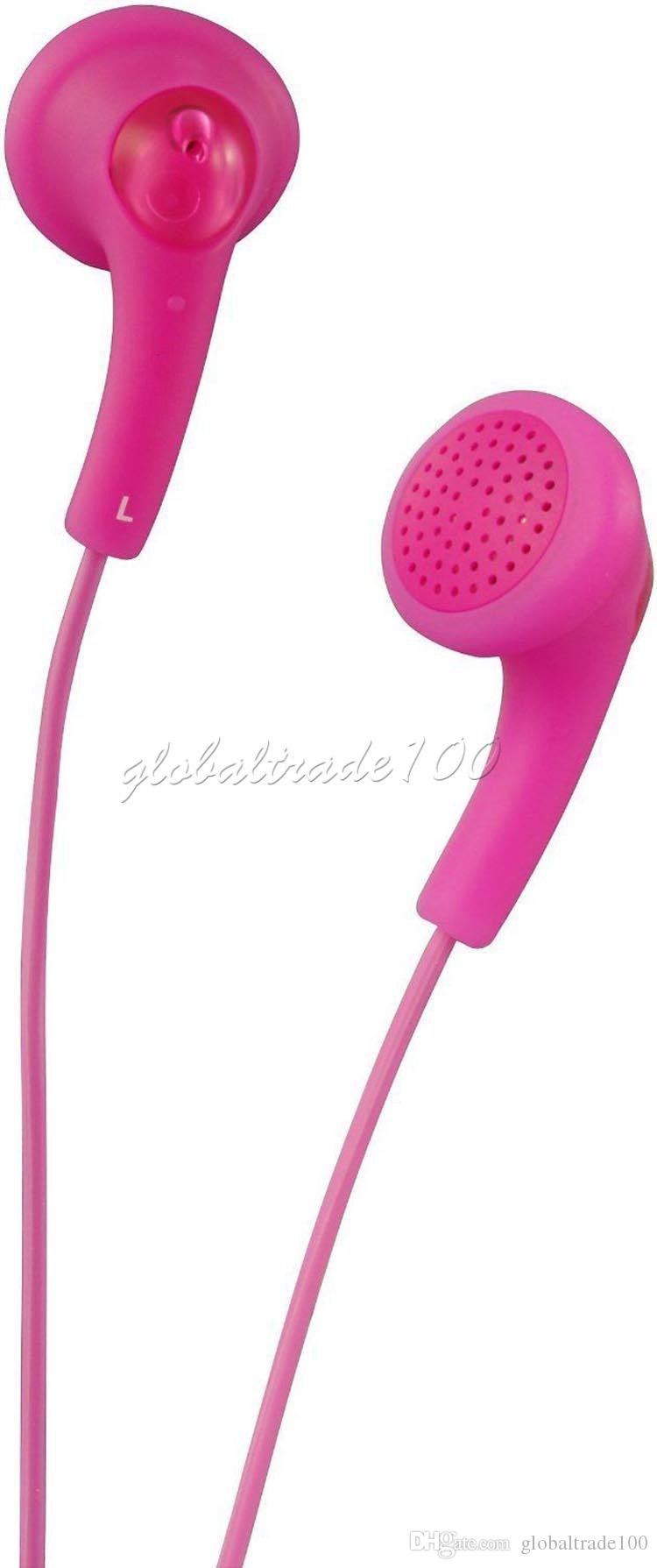 Gumy Gummy наушники HA F150 3,5 мм MP3 Наушники Наушники без микрофона красочные для iphone ipad ipod Samsung HTC