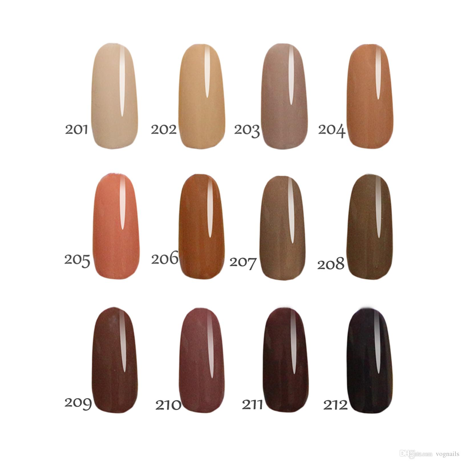 Toffee Color Series! Floraes Gel Nail Polish15ml For Choice. Nails ...