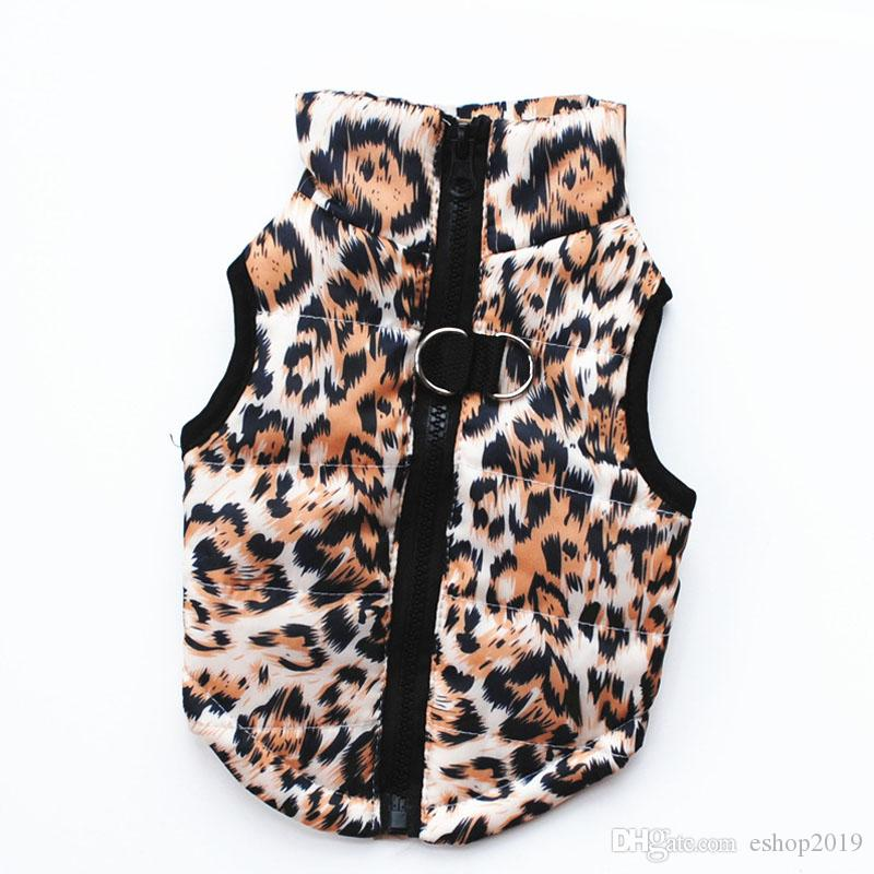 Neue Winter-warme Haustier-Hundekleidungs-Weste-Geschirr-Welpen-Mantel-Jacken-Kleid 13 färben großes freies Verschiffen