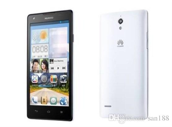 Quad core Unicom 3G Ram 1GB Rom 4G unlocked huawei smart phone by 5 inch G610 cell phone Android with WIFI GPS Bluetooth